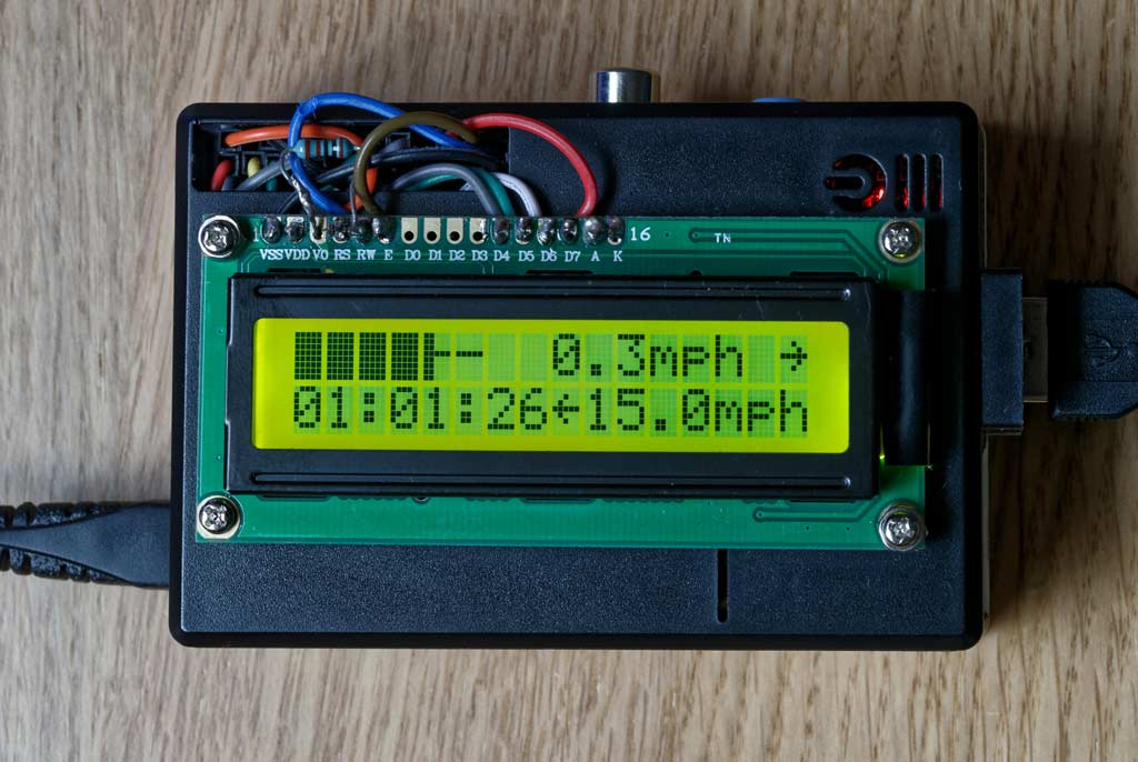 Raspberry Pi with LCD Display